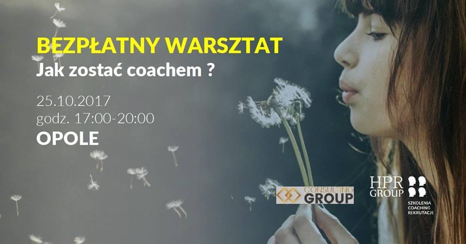 Bezpłatny warsztat - Jak zostać coachem ?